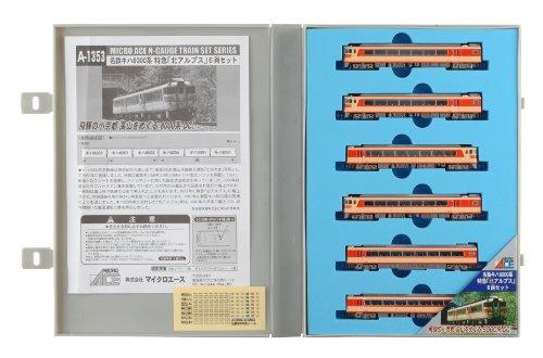 【中古】マイクロエース Nゲージ 名鉄キハ8000系 特急「北アルプス」6両セット A1353 鉄道模型 ディーゼルカー