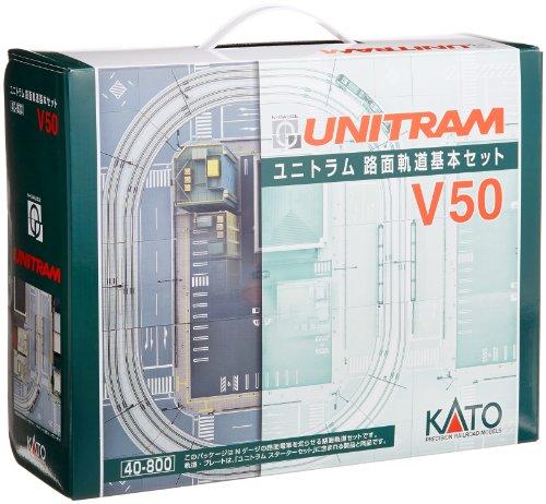 【中古】KATO Nゲージ V50 ユニトラム 路面軌道 基本セット 40-800 鉄道模型 レールセット