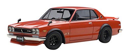 【中古】AUTOart 1/18 日産 スカイライン GT-R (KPGC10) チューンド・バージョン (レッド) 完成品