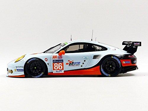 【中古】ポルシェ911?RSR # 86?2016?24h LeMans LMGTE AM Gulf Racing M。Wainwright , Aキャロル, B。バーカー1?/ 18?by Spark 18s278