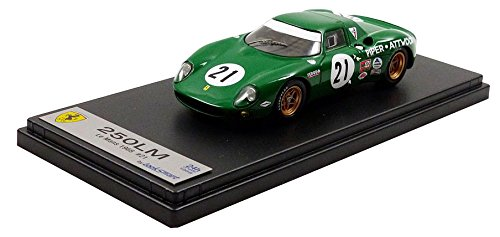 【中古】☆ ルックスマート 1/43 フェラーリ 250LM 1968 ルマン24H 7位 #21 D.パイパー/R.アトウッド