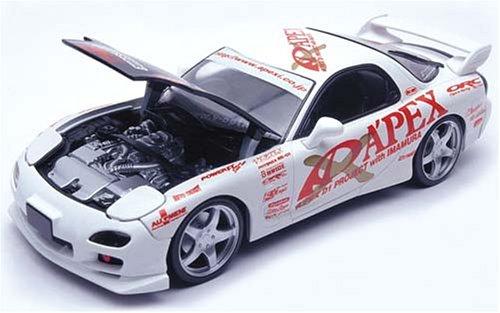 【中古】ホットワークス 1/24 APEX MAZDA RX-7(F03S 2001) APEX 01 PROJECT VERSION 完成品