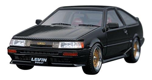 【中古】イグニッションモデル 1/43 トヨタ カローラ レビン AE86 3ドア GT アペックス ブラック 完成品
