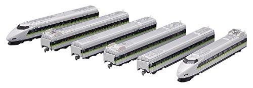 【中古】TOMIX Nゲージ 100系 山陽新幹線 フレッシュグリーン 6両セット 92823 鉄道模型 電車