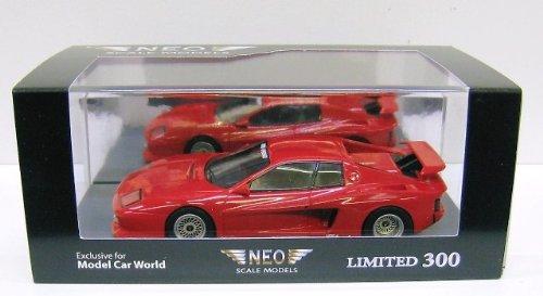 【中古】【NEO/ネオ】1/43 フェラーリ テスタロッサ ケーニッヒ 1985 Limited 300pcs