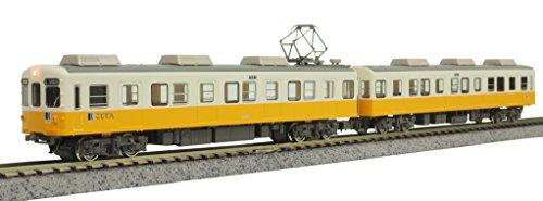 【中古】グリーンマックス Nゲージ 高松琴平電鉄1200形 琴平線 2両編成セット 動力付き 50590 鉄道模型 電車