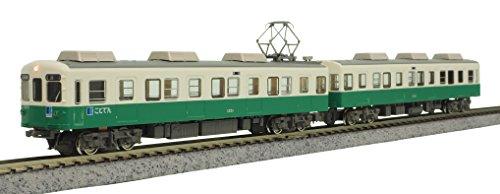 【中古】グリーンマックス Nゲージ 高松琴平電鉄1200形 長尾線 2両編成セット 動力付き 50591 鉄道模型 電車