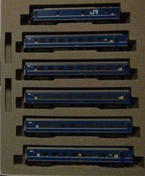 【中古】KATO Nゲージ 24系 寝台特急 日本海 増結 5両セット 10-882 鉄道模型 客車