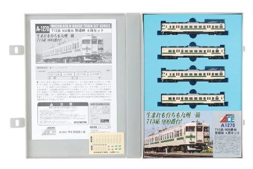 【中古】マイクロエース Nゲージ 713系900番台 登場時 4両セット A1270 鉄道模型 電車