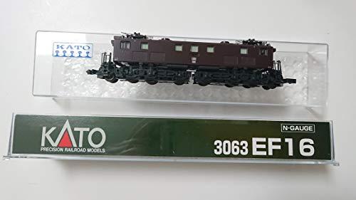 【中古】KATO Nゲージ EF16 3063 鉄道模型 電気機関車