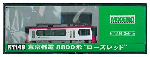 """【中古】MODEMO Nゲージ NT149 東京都電8800形 """"ローズレッド"""
