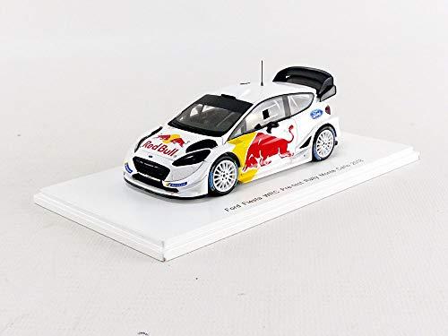 【中古】☆ スパーク 1/43 フォード フィエスタ 2018 WRC テストカー S.オジェ/J.イングラシア