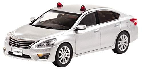 【中古】RAI'S 1/43 ニッサン ティアナ XE (L33) 2016 警察本部刑事部機動捜査隊車両 (2灯仕様/銀) 完成品