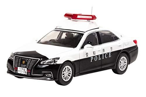 【中古】RAI'S 1/43 トヨタ クラウン ロイヤル (GRS210) 2017 愛知県警察地域部自動車警ら隊車両 (110) 完成品