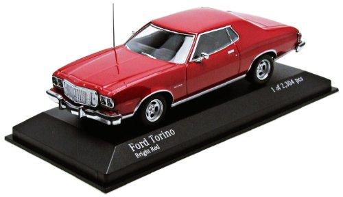 【中古】【MINICHAMPS/ミニチャンプス】1/43 フォード トリノ GT 1976 レッド