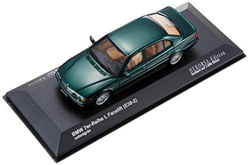 【中古】ヘコルサ 1/43 BMW 7シリーズ フェイスリフト (E38-2) オックスフォードグリーン (HE015R2) 完成品