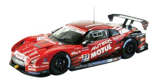 【中古】エブロ 1/43 MOTUL AUTECH GT-R Low Down Force SUPER GT500 2013 No.23 完成品