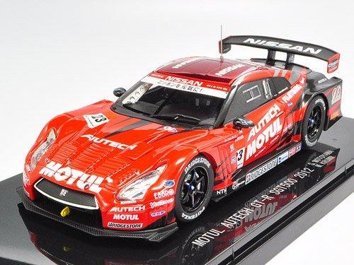 【中古】エブロ 1/43 モチュール オーテック GT-R 2012#23 完成品