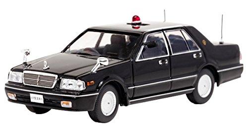 【中古】RAI'S 1/43 日産 セドリック クラシック SV (PY31) 1999 警察本部警備部要人警護車両 (ブラック) 完成品