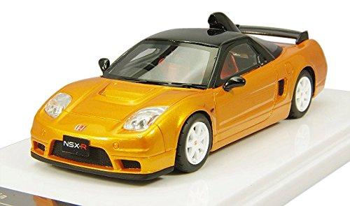 【中古】WIT'S 1/43 ホンダ NSX タイプR NA2 オレンジパール 完成品