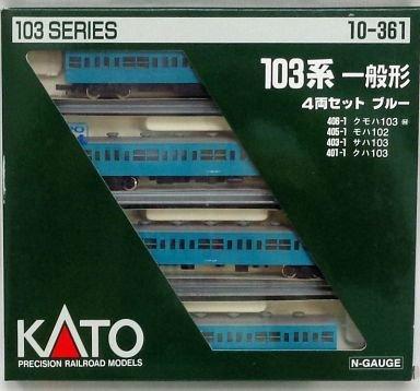 【中古】Nゲージ 車両セット 103系 一般形ブルー (4両) #10-361