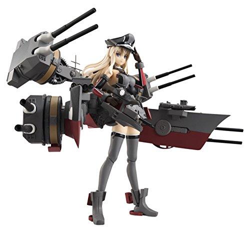【中古】アーマーガールズプロジェクト 艦これ Bismarck drei 約140mm PVC&ABS製 塗装済み可動フィギュア