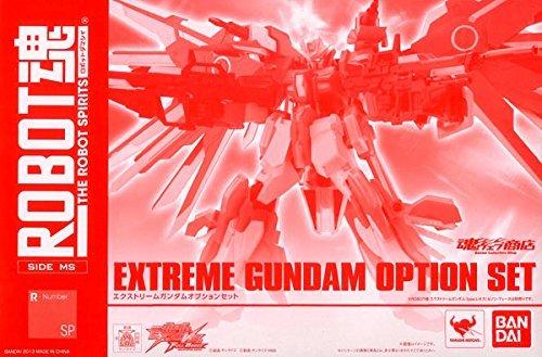 【中古】GUNDAM EXA ROBOT魂 SIDE MS エクストリームガンダム オプションセット
