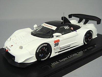 【中古】エブロ 1/43 ホンダ NSX テストカー スーパーGT2006 #99 完成品