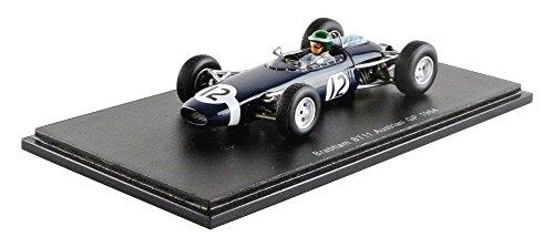 【中古】☆ スパーク 1/43 ブラバム BT11 1964 F1 オーストリアGP #12 J.リント