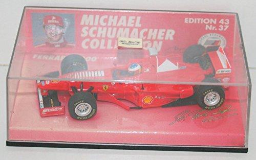 【中古】MINICHAMPS 1/43スケール フェラーリ F300 1998 M.シューマッハ・コレクション 510 984303