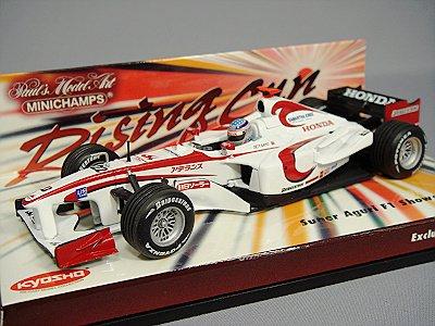 【中古】ミニチャンプス 1/43 スーパーアグリ F1 ショーカー タクマ Risin Sun #22 '06