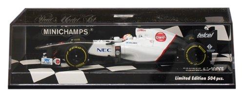 【中古】PMA 1/43 ザウバー F1 ショーカー 2012 S.ペレス 完成品