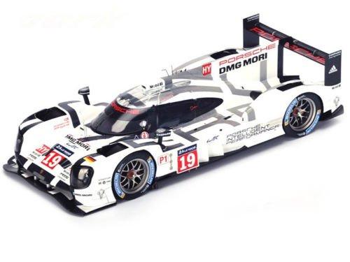 【中古】1/18 ポルシェ 919 Hybrid n.19 LMP1 Winner Le Mans 2015 Porsche Team N. Hulkenberg - E. Bamber - N. Tandy