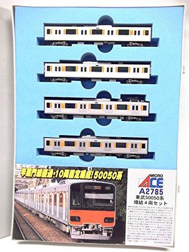 【中古】マイクロエース Nゲージ 東武50050系 増結4両セット A2785 鉄道模型 電車