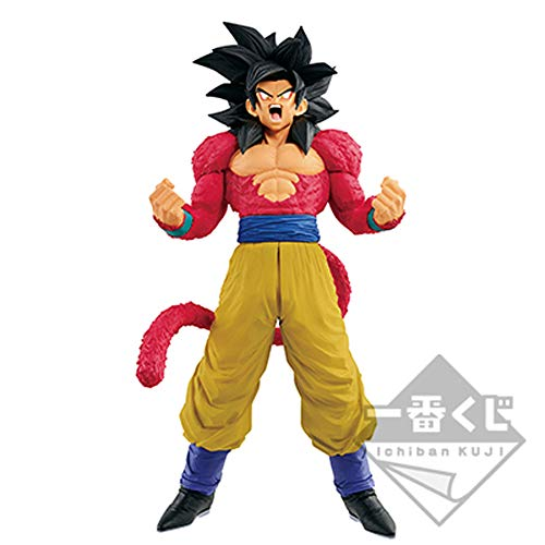 【中古】未開封品一番くじ ドラゴンボールGT SUPER MASTER STARS PIECE THE SUPER SAIYAN 4 SON GOKOU THE ANIME賞 b2