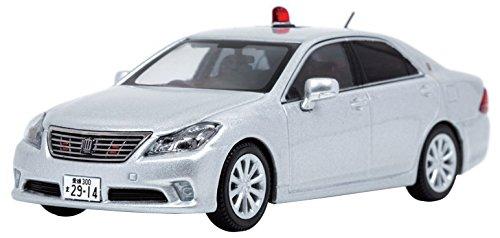 【中古】ヒコセブン RAI'S 1/43 トヨタ クラウン (GRS202) 2013 愛媛県警察交通部交通機動隊車両 完成品