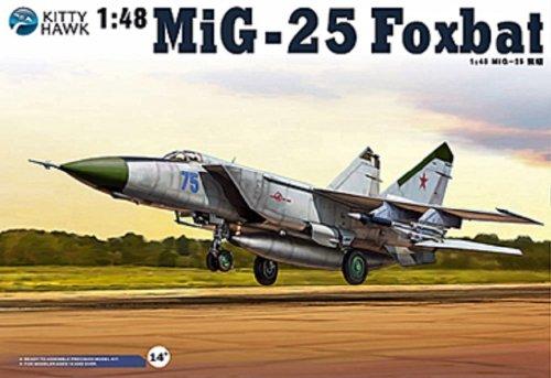 <title>2 中古 キティホークモデル 1 48 格安 価格でご提供いたします MiG-25PD PDS フォックスバット プラモデル</title>