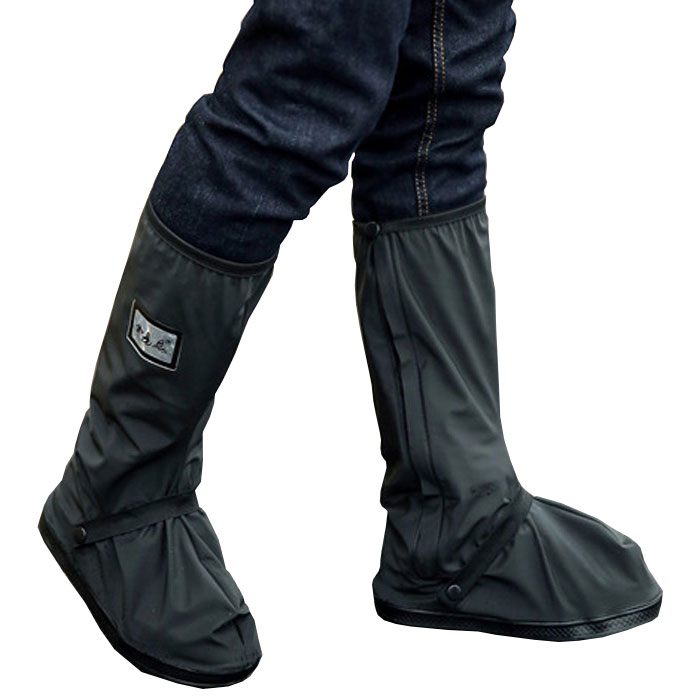 大切な靴を雨から守るシューズレインカバー!くつの上から履くだけの簡単装着! レインブーツカバー 防水 雨 男女兼用 滑り止め 着脱簡単 カバー ブーツ 靴 スニーカー ◇FAM-YY315