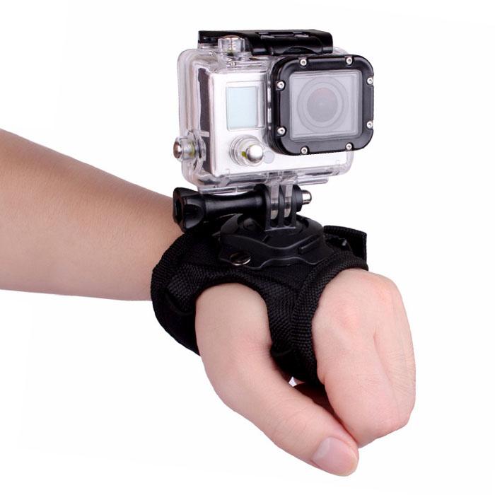 アクションカメラを手の甲にマウントできるグローブです 多くのカメラで一般的なGoPro互換マウントに対応 従来商品より直感的なフレーミングが可能です ラッピング無料 アクションカメラ 用 ユニバーサル グローブ GoPro SJCAM xiaomi Yi FAM-SJ-PALM01 指先 対応 両手 360度 1000円ポッキリ 定形外郵便 自由 回転 お金を節約 ウェアラブル マウント