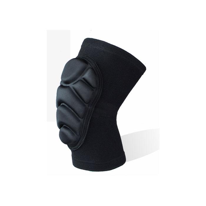 伸縮性と通気性が良く、衝撃から膝を守る膝用プロテクターです。ヒザを、衝撃吸収素材(EVA樹脂パッド)で衝撃をしっかりと和らげます。 膝サポーター 2枚セット ひざプロテクター 膝当て ニーパッド スケボー スノーボード バイク BMX インラインスケート ◇FAM-MTS-HX