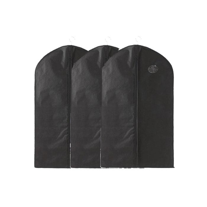 不織布のスーツカバー3個セット Mサイズ 厚みを抑えられて収納でき 日本メーカー新品 ホコリ 日焼けから守る 不織布のスーツカバー 3個セット 100cm×60cm 売り出し コンパクト収納 通気性 カビ防止 クローゼット FAM-YJ-M 抗菌 吊り下げ シワ防止
