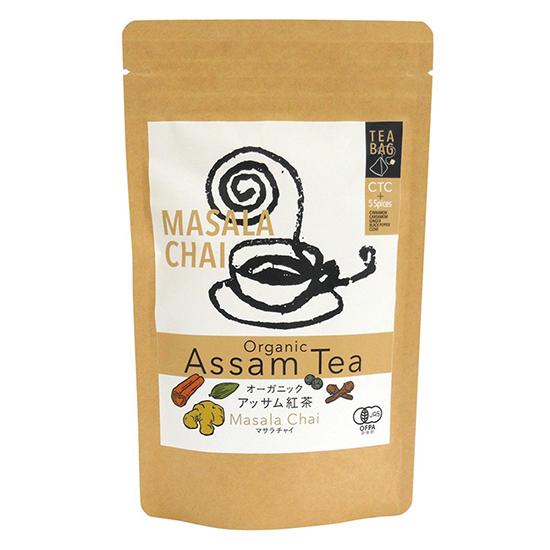 インド産有機アッサム紅茶に バイオ アウトレットセール 特集 ダイナミック農法有機スパイス5種をブレンド 信頼 シナモンの香り高い味わい 37.5g 2.5g×15 \送料無料 オーガニックマサラチャイ