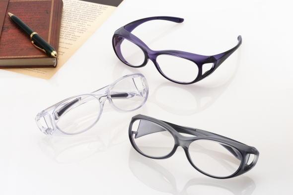 オーバーグラス拡大鏡 S 眼鏡タイプ 【マラソン201407_送料込み】