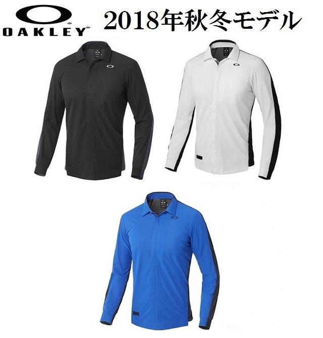 オークリー ゴルフ ウェア スカル シャツ【OAKLEY】SKULL SYNCHRONISM LS SHIRTS 1.0【SLIM】カラー:BLACKOUT(02E)カラー:WHITE(100)カラー:SAPPHIRE(68C)401912JP