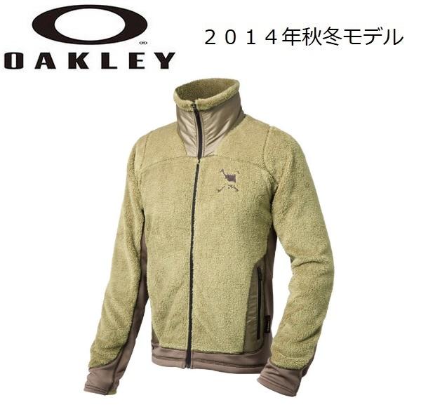 【OAKLEY】オークリー ゴルフ ウェア スカル アウターSKULL FLEXIBLE FLEECE JACKETカラー:JET BLACK(01K)カラー:DARK HEATHER GRAY(20Q)カラー:ARMY KHAKI(30Q)411925JP