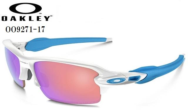 オークリー サングラス【OAKLEY】FLAK 2.0フラックフレームカラー:Polished Whiteレンズカラー:Prizm Golfフィット:Asia Fit付属品:専用ケース/マイクロバック/交換用ノーズパッドOO9271-17ラッキーシール対応