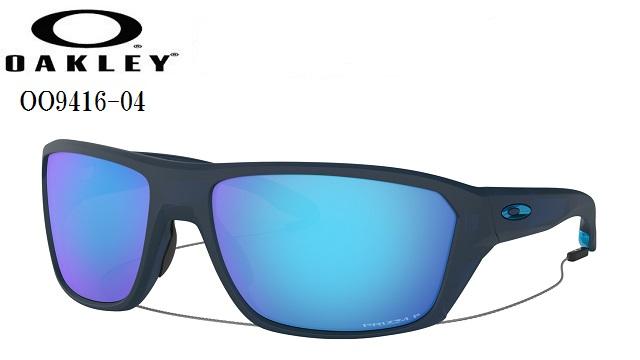 オークリー サングラス【OAKLEY】SPLIT SHOTフレームカラー:Matte Translucent Blueレンズカラー:Prizm Sapphire Polarizedフィット:レギュラーフィットOO9416-04【偏光レンズ】送料無料ラッキーシール対応