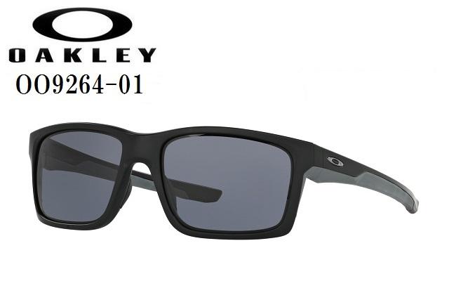 オークリー サングラス【OAKLEY】MAINLINKオークリー メインリンクフレームカラー:MATTE BLACKレンズカラー:GRAY付属品:MICROBAG LARGE-BLACK/保証書OO9264-01ラッキーシール対応