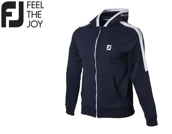 フットジョイ ゴルフ メンズ ウェア パーカー【FootJoy】ジャージーフリースフーディカラー:ネイビー(85952)FJ-F18-M08ラッキーシール対応