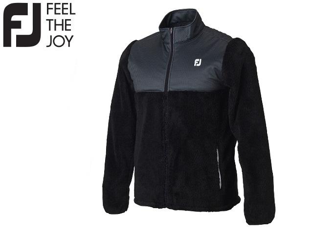 フットジョイ ゴルフ メンズ ウェア アウター【FootJoy】ハイブリッド ボアフリースジャケットカラー:ブラック(84525)FJ-F18-O08ラッキーシール対応